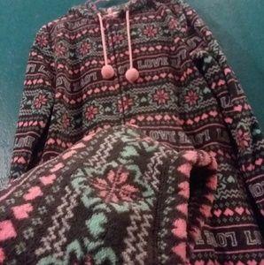 cute warm onesie